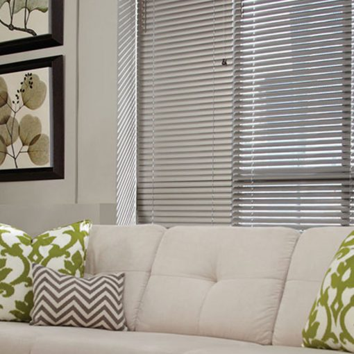 faux wooden blinds Woodefex Canvas