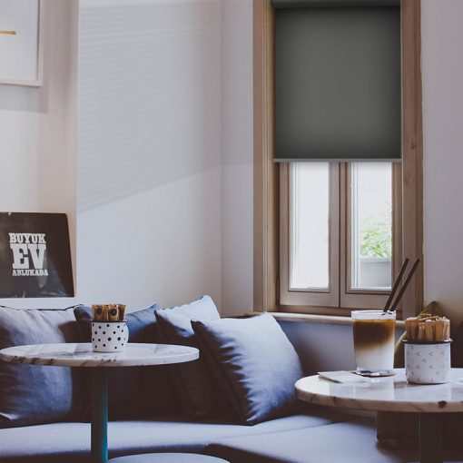 living room roller blind scribe alloy