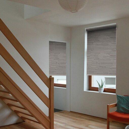 living room roller blinds reve graphite