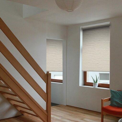 living room roller blinds reve shell