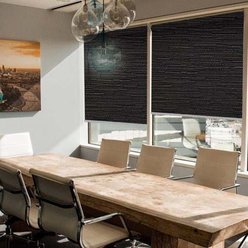 office roller blinds reve onyx