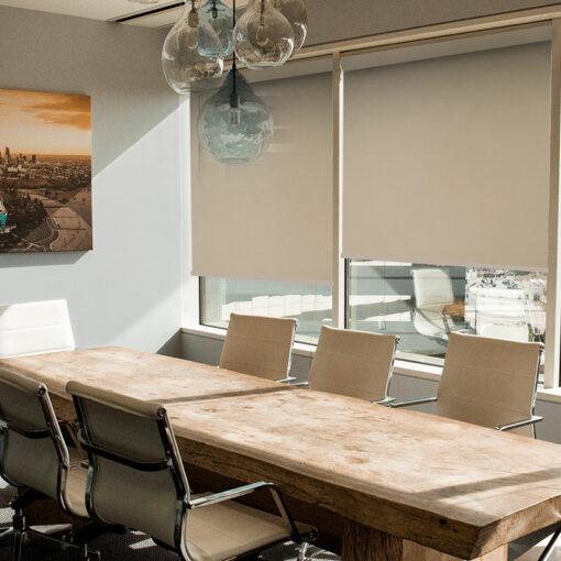 office roller blinds scribe linen