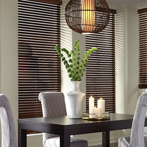 slat blinds truewood maple