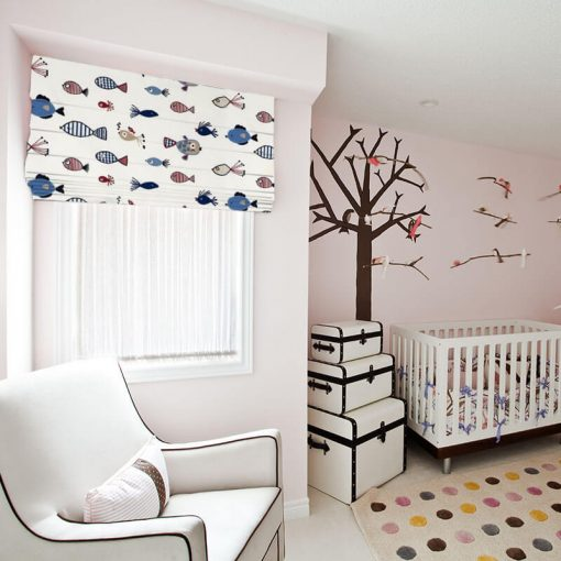 ready made blinds tiddlers marine