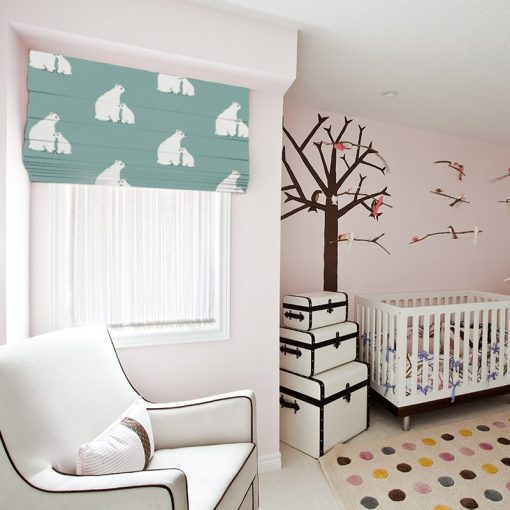 Bear Hug Ready Made Blinds Fun Kids Roman Blinds Online
