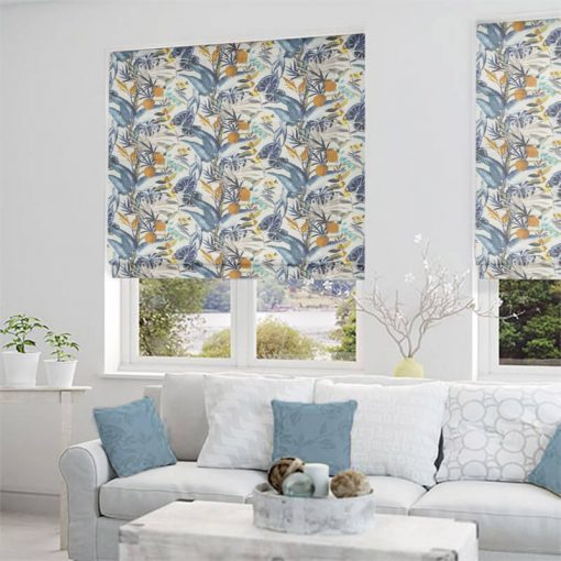 Pandora Lapis Ready Made Blinds Gorgeous Roman Blinds Online