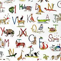 Clip Alphabet Safari Paintbox